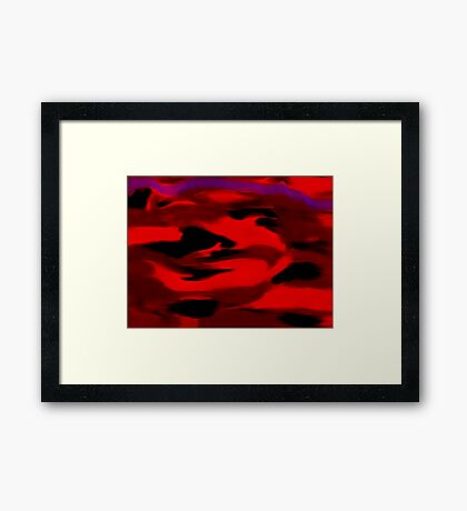 Energy Unleashed Framed Print