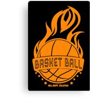 Basket Ball Canvas Print