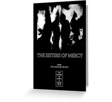 The Sisters Of Mercy - More - The World's End Greeting Card