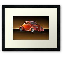 1936 Ford Coupe 'Studio' Framed Print
