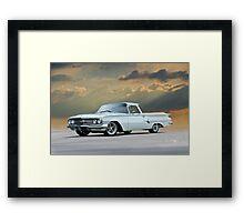 1960 Chevrolet Custom El Camino Framed Print