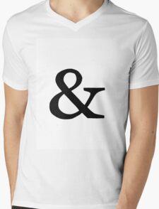 Symbol Mens V-Neck T-Shirt