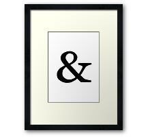 Symbol Framed Print