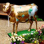 Stylish Guernsey Cow by Rosemary Sobiera