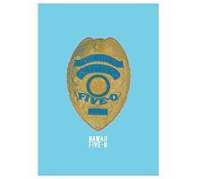 Hawaii Five-0 Minimalist Photographic Print