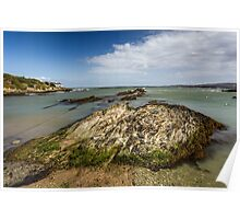 Bull Bay on the Isle of Anglesey in North Wales Poster