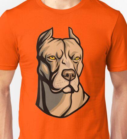 Pit Bull Head Unisex T-Shirt