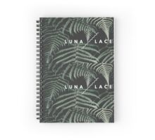 Luna Lace Logo Design  Spiral Notebook