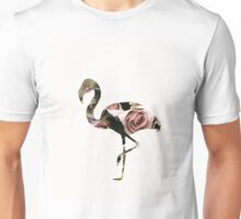 Flower Power Flamingo Unisex T-Shirt