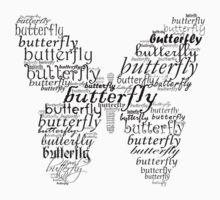 Butterfly pattern Kids Tee