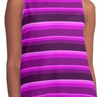 Shades of Violet Contrast Tank