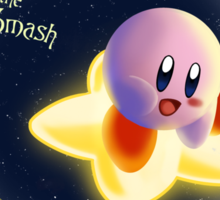 Smashing Bros - Kirby and the Final Smash Sticker