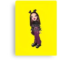 BRATZ DOLL ROXXI MALL PUNK GIRL CYBER GIRL  Canvas Print