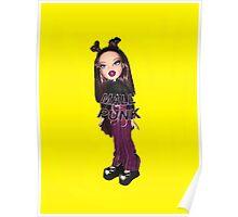 BRATZ DOLL ROXXI MALL PUNK GIRL CYBER GIRL  Poster