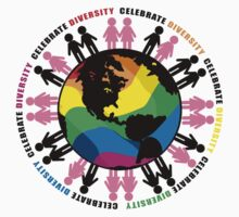Celebrate Diversity LGBTQIA by AngelGirl21030