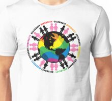 Celebrate Diversity LGBTQIA Unisex T-Shirt