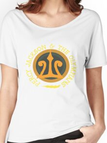 Percy Jackson Logo Women's Relaxed Fit T-Shirt