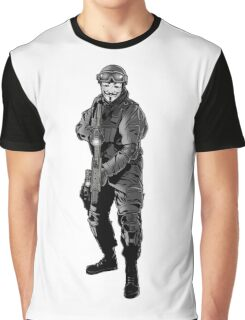Anonymous Soldier Graphic T-Shirt