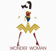 Wonder Woman Art Deco by Johnny Rodriguez