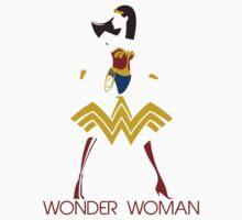 Wonder Woman Art Deco by Johnny Rodriguez