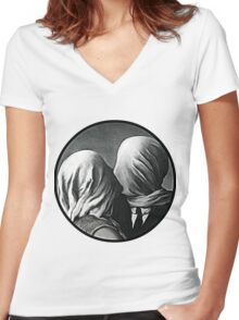 the non-color lovers Women's Fitted V-Neck T-Shirt