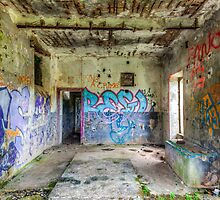 Abandoned Building  by Joshua McDonough