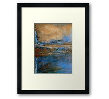 Large Wall Art Abstract Painting Holly Anderson Artist EDGE Framed Print