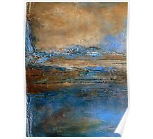 Large Wall Art Abstract Painting Holly Anderson Artist EDGE Poster