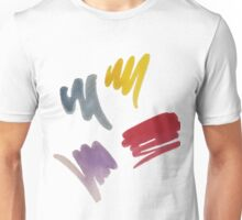 brush doodle small pattern  Unisex T-Shirt