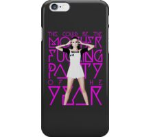 Cher Lloyd - 'M.F.P.O.T.Y' Explicit iPhone Case/Skin