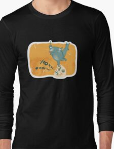 Boo.. Long Sleeve T-Shirt