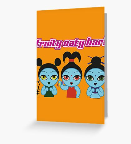 Fruity Oaty Bar! Shirt (Firefly/Serenity) Greeting Card