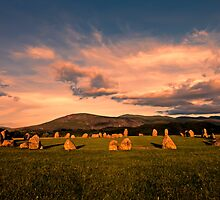 Stone Circle by Roger Green