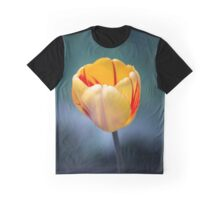 Colorful Tulip Graphic T-Shirt