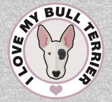 Love My Bull Terrier Kids Tee