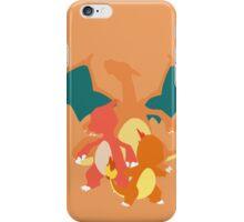 Charmander Evolution iPhone Case/Skin