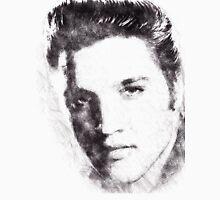 Elvis presley portrait 02 Unisex T-Shirt