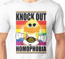 Knockout Homophobia Unisex T-Shirt