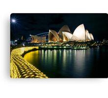The Other Side - Sydney Opera House - Vivid Sydney Canvas Print