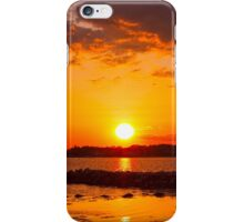 Setting On Saturday iPhone Case/Skin