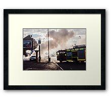 London Fires Framed Print