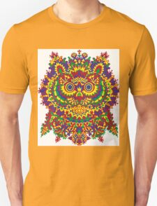 Louis Wain - Cat Owl Unisex T-Shirt