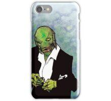 The Creature in Black iPhone Case/Skin