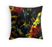 Abstract colorful background Throw Pillow