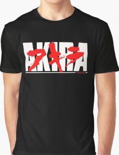 Manga Akira Anime Graphic T-Shirt