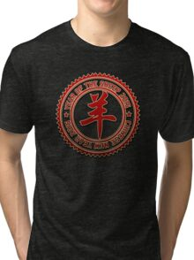 Chinese Year of The Sheep Goat 2015 Tri-blend T-Shirt