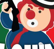 Italian Clownz- 4 Guys With Quarters Sticker