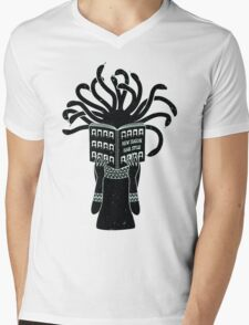 Medusa hairstyle  Mens V-Neck T-Shirt