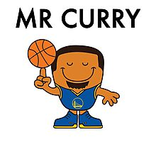 Mr Curry Photographic Print