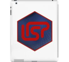 lisp programming language hexagonal hexagon sticker iPad Case/Skin